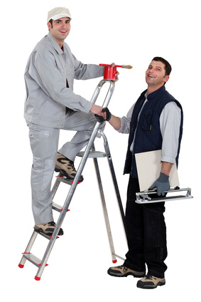 A painter and a tiler.